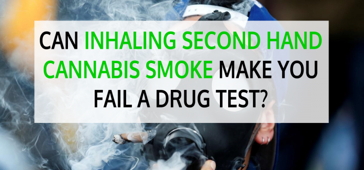 Can Inhaling Second Hand Cannabis Smoke Make You Fail a Drug Test?